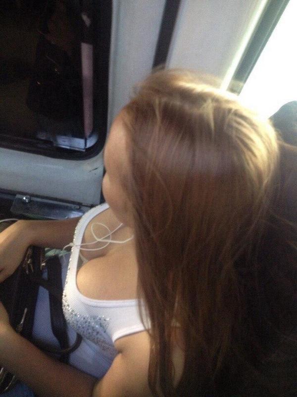 в грудь автобусе фото